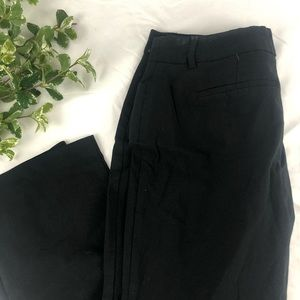 APT 9 Straight Leg Black Dress Pants